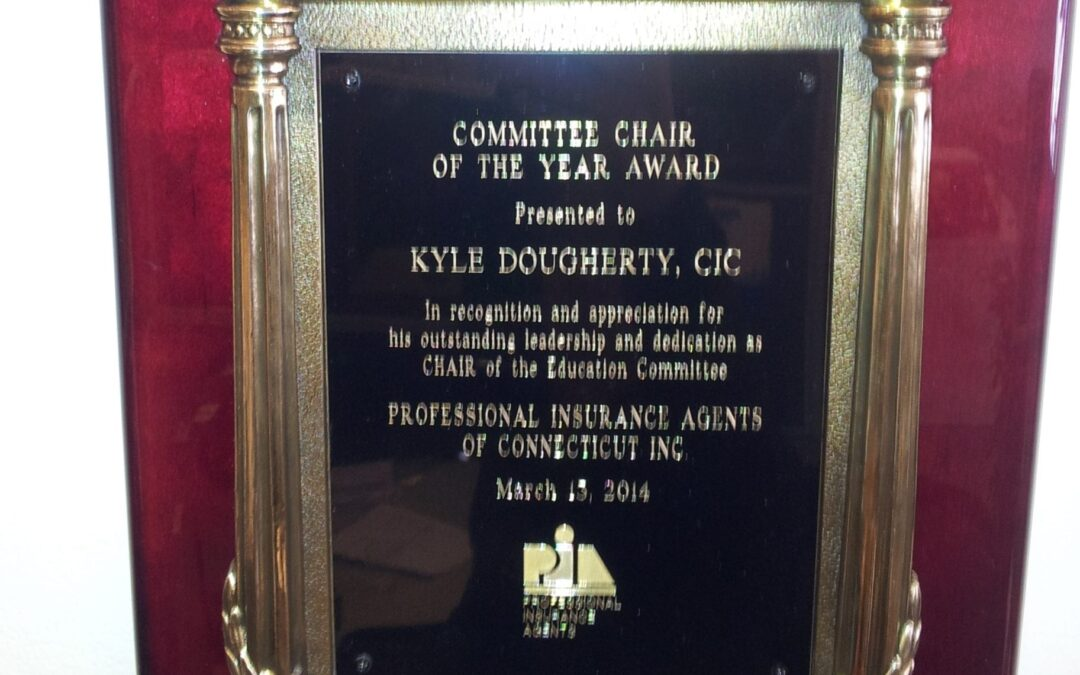 Committee Chair of the Year Awarded to J Kyle Dougherty