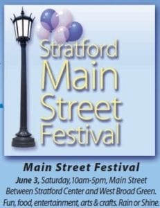 Stratford Main Street Festival this Weekend