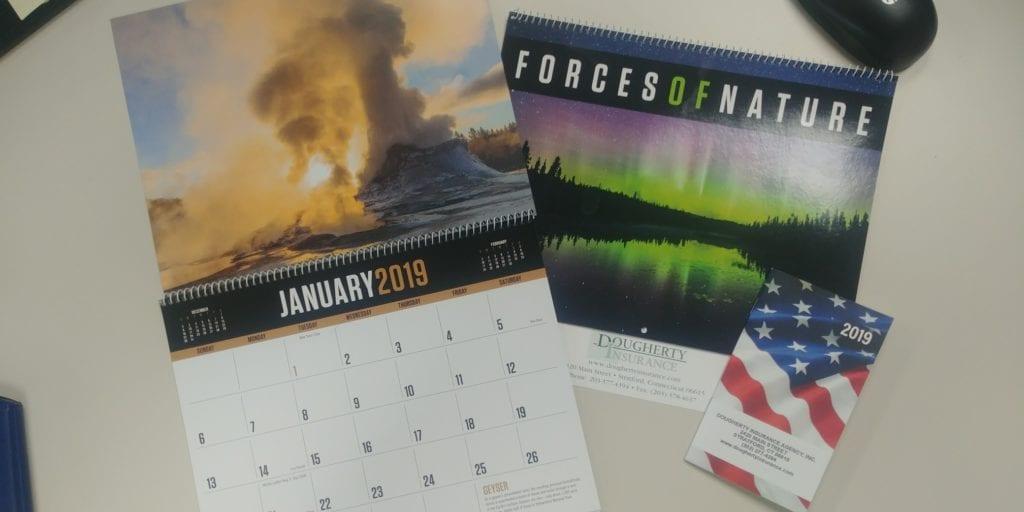 Calendars are In!