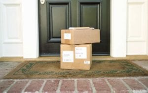 Front Porch is a lousy shipping destination.  Use our office, instead.
