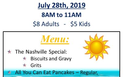 Shriners' Breakfast this Sunday