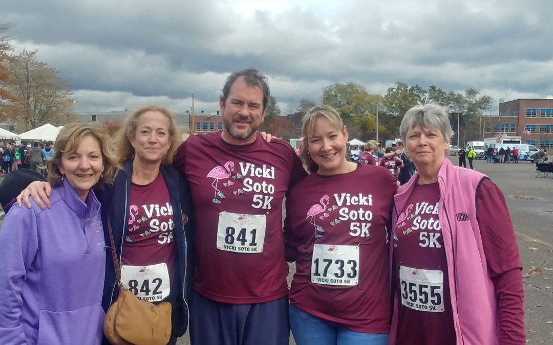 Vicki Soto 5k is this Saturday!