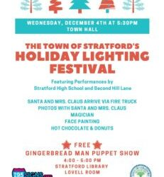Stratford Tree Lighting Ceremony