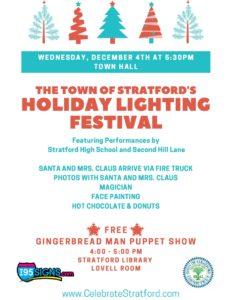 Stratford Tree Lighting Ceremony
