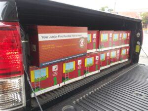 Fire Prevention Classroom Kits Truckload 10052020 300x225 - Welcome